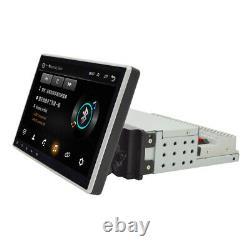 10.1 1Din Android 9.1 Adjustable Car GPS 1GB+16GB Wifi BT Mirror Link OBD DAB