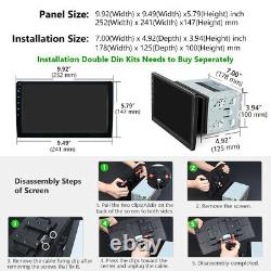10.1 Android 10 In Dash Bluetooth 2DIN Car Stereo Radio WiFi GPS Navigation DSP