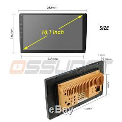 10.1 Android 9.0 1080P Car GPS Navi 2Din Quad-Core 4G WiFi Stereo Radio Player