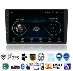 10.1 Android 9.1 Quad-core Stereo GPS Navigation Radio Player Double Din WIFI
