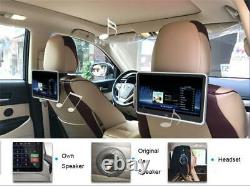 10.1Car Headrest Monitor MP5 Player FM HD 1080P Video Screen With USB/SD Player