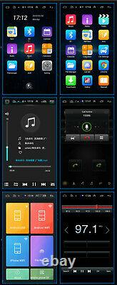 10.1in Single 1Din Android 9.0 Car Stereo Radio Wifi GPS Navigation Head Unit