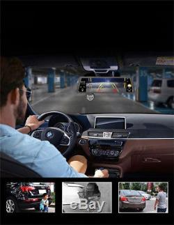 10 Touch GPS Navigation System Dual Lens DVR Recorder Bluetooth Voice Control
