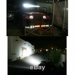 10D Quad Row 32 inch 3264W Led Work Light Bar Combo Offroad 4WD for Jeep ATV 36