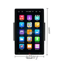 11 Rotatable Screen Android Car Stereo Radio Navigation Bluetooth Multimedia