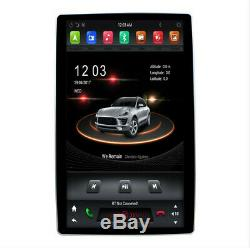 12.8'' 360° Rotation Screen Head Unit Car MP5 Player GPS FM Android 8.1 2+32GB