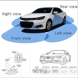 12V Car HD 360°Bird View Panorama System Car DVR Front/Side/Rear View Camera Kit