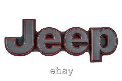 17-20 Jeep Grand Cherokee Rear Liftgate Emblem Nameplate Badge Oem Mopar Genuine