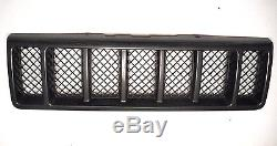 1998 Jeep Grand Cherokee limited 5.9 front grille grill gray 98 mesh style oem