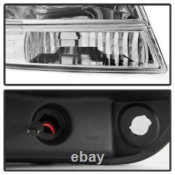 1999-2004 Jeep Grand Cherokee LED Light Tube Halo Projector Headlights Headlamps