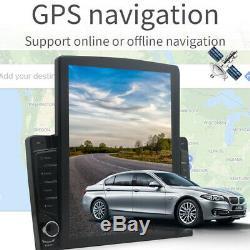 1DIN 10.1 Android 9.1 HD Quad-core 1GB+16GB Car Stereo Radio GPS Nav WiFi/3G/4G