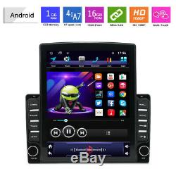 1DIN Rotatable 10.1 Android 9.1 HD GPS WIFI Quad-core 2GB+32GB Car Stereo Radio
