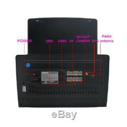 1DIN Rotatable 10.1Android 8.1 Quad-core Car Stereo Radio GPS 1GB16GB Bluetooth