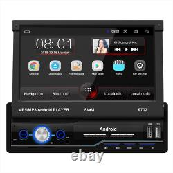 1Din Android 8.1 Car Stereo GPS Navigation Radio Player WIFI 7 Mirror Link