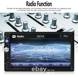 2 DIN 7 HD Stereo Radio WINCE MP5 Player Bluetooth Touch Screen For Car Truck