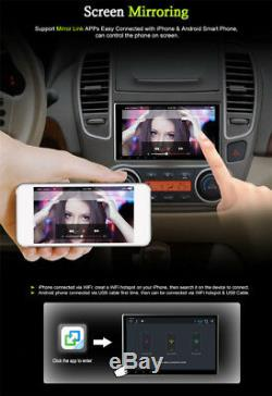 2 DIN Android 7.12 10.1 Car Stereo Radio GPS Wifi DVD 4G BT DAB DTV Mirror Link