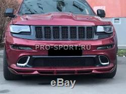 2011-2015 2016 Jeep Grand Cherokee SRT Front Bumper Lip Splitter FRP spoiler