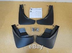 2011-2018 Jeep Grand Cherokee Deluxe Front & Rear Molded Splash Guards Mud Flaps