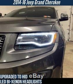 2014 2015 2016 2017 2018 2019 2020 Jeep Grand Cherokee Harness Halogen HID LED