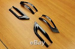 2014-2019 Jeep Grand Cherokee Gloss Black Tail Light Trim Bezel Kit Mopar OEM