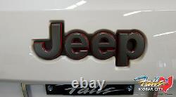 2014-2021 Jeep Grand Cherokee Trail Hawk Trailhawk Rear Liftgate Emblem Mopar