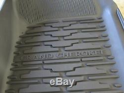 2016 2020 Jeep Grand Cherokee Rubber Slush Mats Floor Mats Front & Rear Mopar