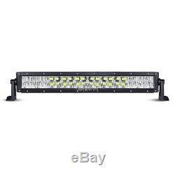 24inch 280W CREE RGB Led Light Bar Strobe Flash Multi Color Halo Ring Disco 22