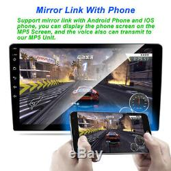 2DIN Android 9.1 Car Radio GPS Stereo Head Unit Wifi FM 9 Touch Screen 2GB+32GB