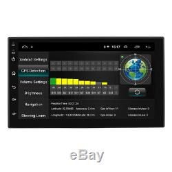 2Din Android 8.1 7 Car Stereo Radio Wifi 3G 4G Quad-Core 1+16GB GPS Navigation