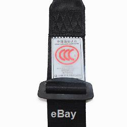 2Set Universal 3 Point Retractable Seat Belts for Jeep CJ YJ Wrangler 1982-1995