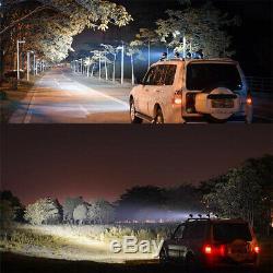 2X 4 25W LED Work Light Round Spot Driving Fog Lamp Offroad 4X4 4WD ATV Boat