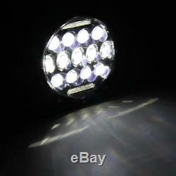 2X 7 inch 260W Round LED Headlight Hi/Lo DRL Beam for Jeep Wrangler JK LJ TJ CJ