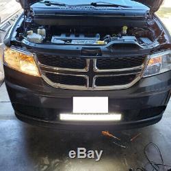 2x 24inch 280W Led Light Bar Curved Spot Flood Combo Work UTE Truck SUV ATV 22'