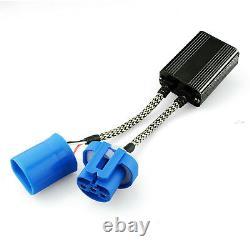 2x 9004 HB1 LED Plug-n-Play Decoder Warning Canceller Resistor Anti Flicker