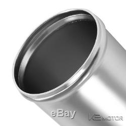 3 Aluminum Turbo Intercooler 45/90 Degree Piping+U Pipe+Elbow Hose+Clamps