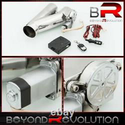 3 Supercharger Electric Cutout Valve System Exhaust Downpipe Catback With Control