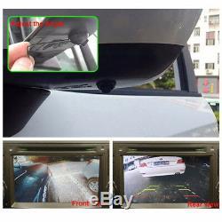 360° Bird View Panoramic 4 Camera Car DVR Recording Parking Rear View 2 videos