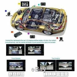 360°Car DVR Record Panoramic View All Round Rear View Camera 120°Lens View Angle