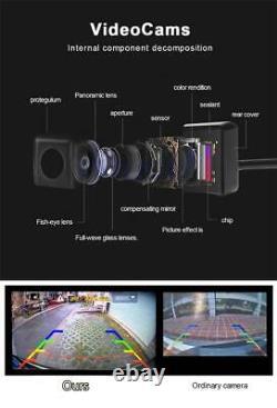 360 Degree Bird View Surround System DVR Record Backup Camera Parking Monitoring