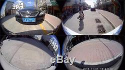 3D HD 360° Full View Parking System Bird View Panorama 4-CH Camera Car DVR Kit