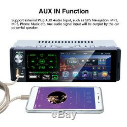 4.1 Car Touch Screen MP5 Radio Player FM Blueteeth Stereo Subwoofer with Camera