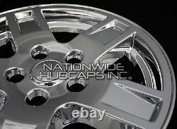 4 2005-2007 Jeep Grand Cherokee 17 Chrome Wheel Skins Hub Caps Full Rim Covers