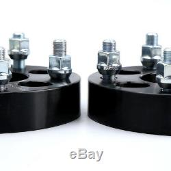 4 Wheel Adapters 5x4.5 To 5x5 1.25 Adapts Jeep Cj Wheels On Tj Mj Yj Kk Sj Xj