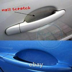4 x Invisible Clear Adhesive Car Door Handle Paint Scratch Protection Film Sheet
