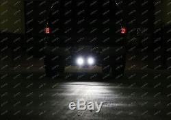 40W CREE LED Pods with Backup Reverse Tow Hitch Brackets For Offroad 4x4 Truck SUV