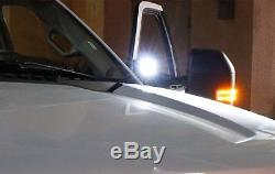 40W CREE LED Pods with Universal A-Pillar Hinge Bracket/Wirings For Truck Jeep SUV