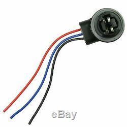 4157NA 3157B Bulb Socket Turn Signal Light Harness Wire Plug Connectors A Pair