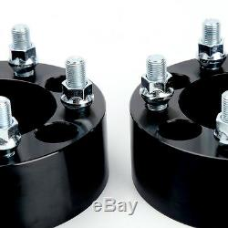 4x 2 Wheel Spacers Adapters 5x4.5 fits Jeep Wrangler TJ, YJ, XJ, KJ, KK, ZJ, MJ