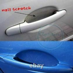 4x Sheets Clear Adhesive Car Door Handle Paint Protector Scratch Film Guard