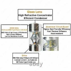 5202 H16 High Power LE DRL Fog Lights Bulbs Lamp